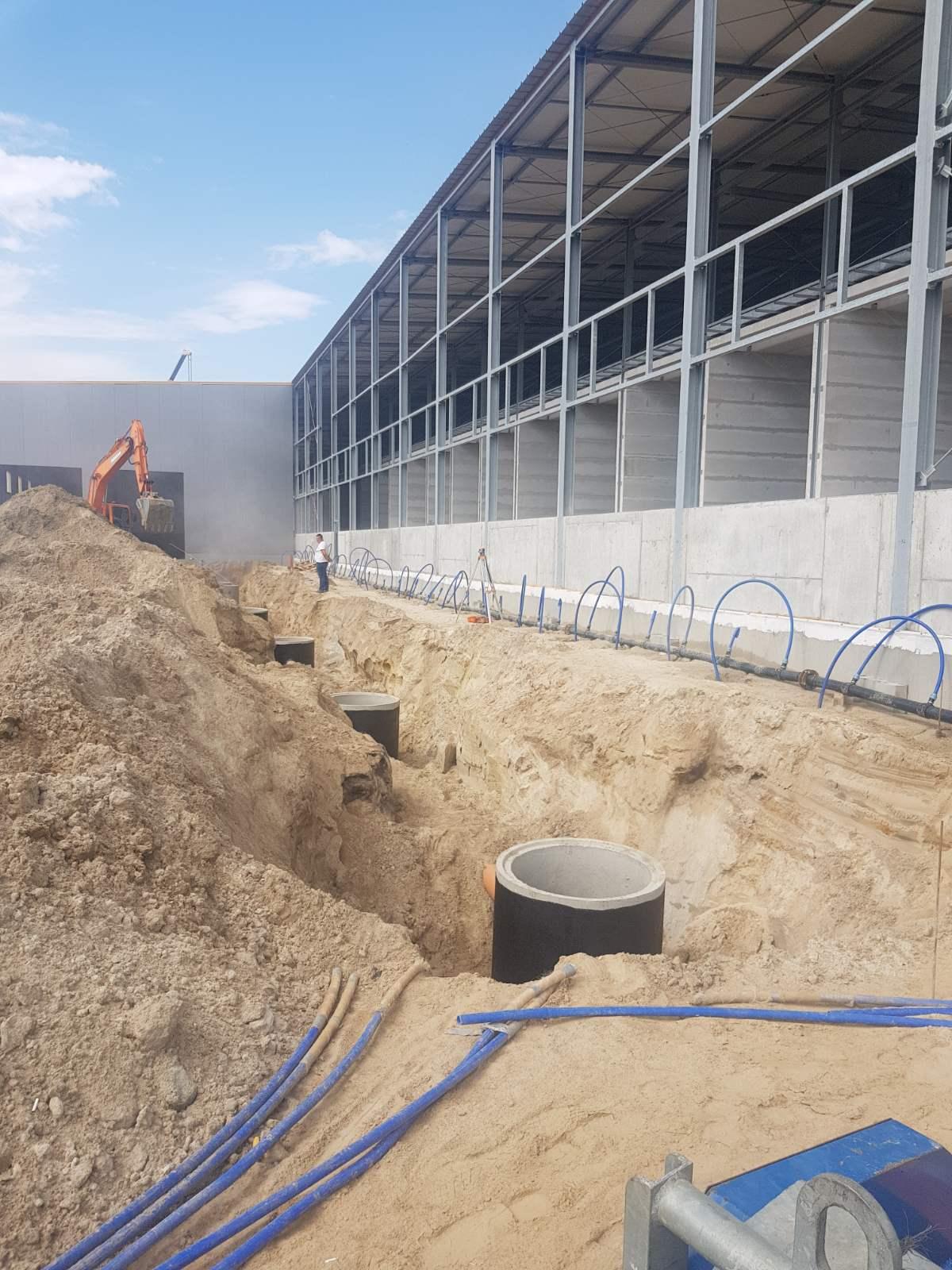 устройство наружных сетей водоснабжения и канализации