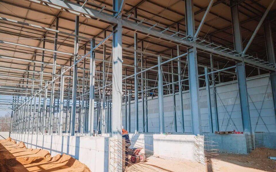 Строительство и обслуживание сельскохозяйственного комплекса